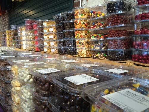 Brightly colored deliciousness at the Farmer's Market