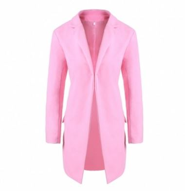 I am CRAVING a pink statement coat to wear with an all black holiday ensemble.