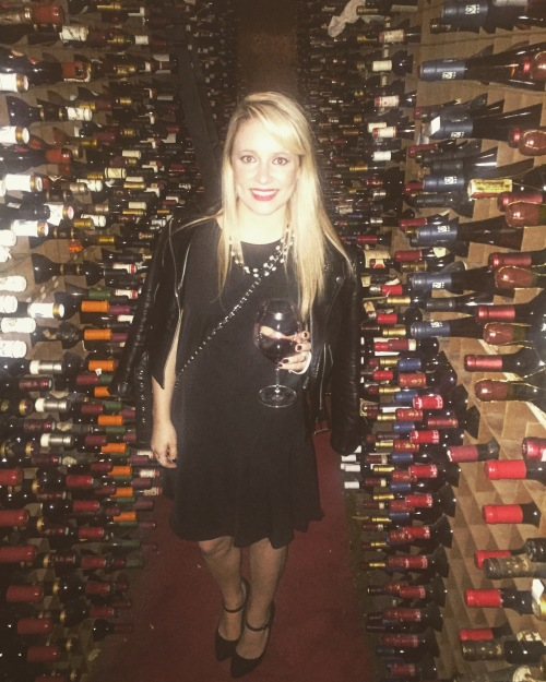 Touring the largest private wine collection in the world after eating dinner at Bern's Steakhouse.