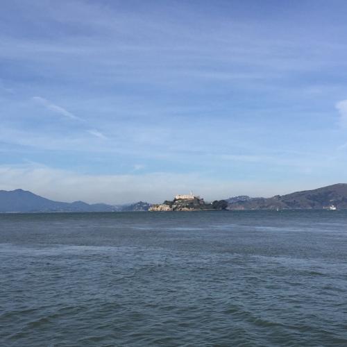 Alcatraz views.