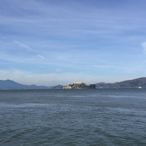 Alcatraz views.