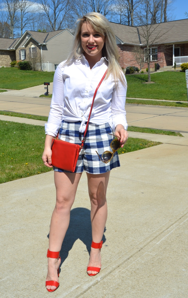 Gingham Girl - SuccessonStilettos.com