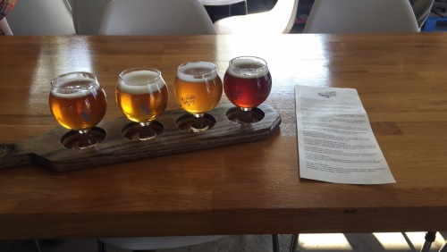 My flight at Seven Sons.