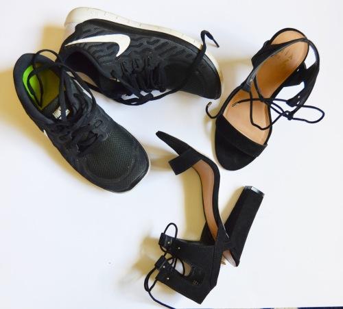 Nike Free's & Mix No. 6 Heels