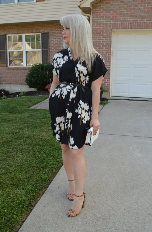 Sunnies: Old Navy, Dress: SheIn c/o, Heels: Steve Madden, Bag: Gabes (old)
