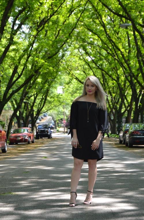 Dress, Necklace, Earrings: Target, Heels: Charlotte Russe