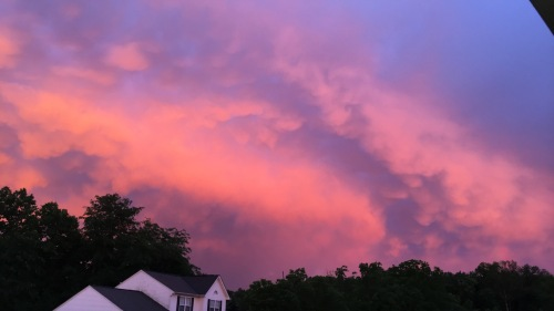 Holy sunset after a killer storm.